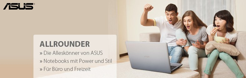 Asus Allrounder Notebooks