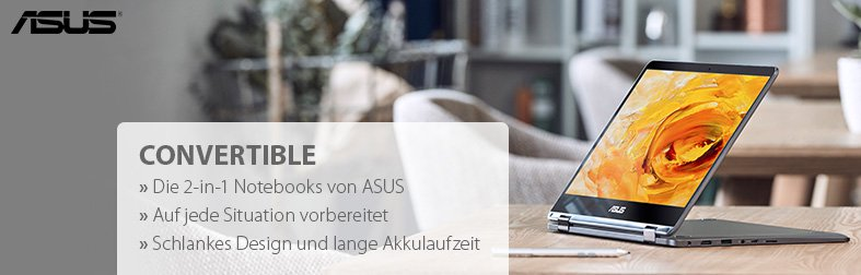 Asus Convertible Notebooks