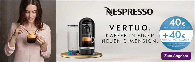 Nespresso Vertuo Aktion