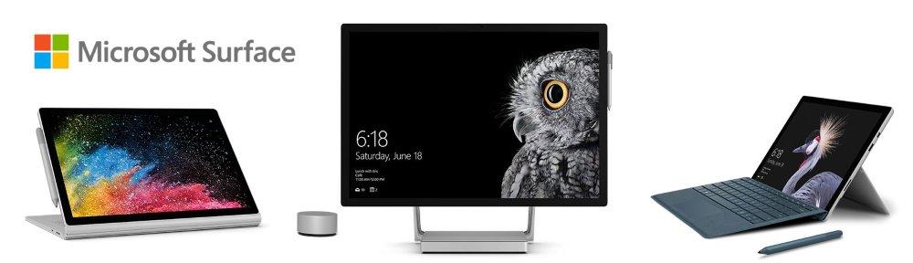 Microsoft Surface bei computeruniverse kaufen