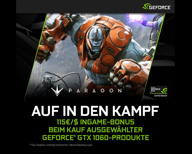 NVIDIA GeForce GTX Paragon Bundle