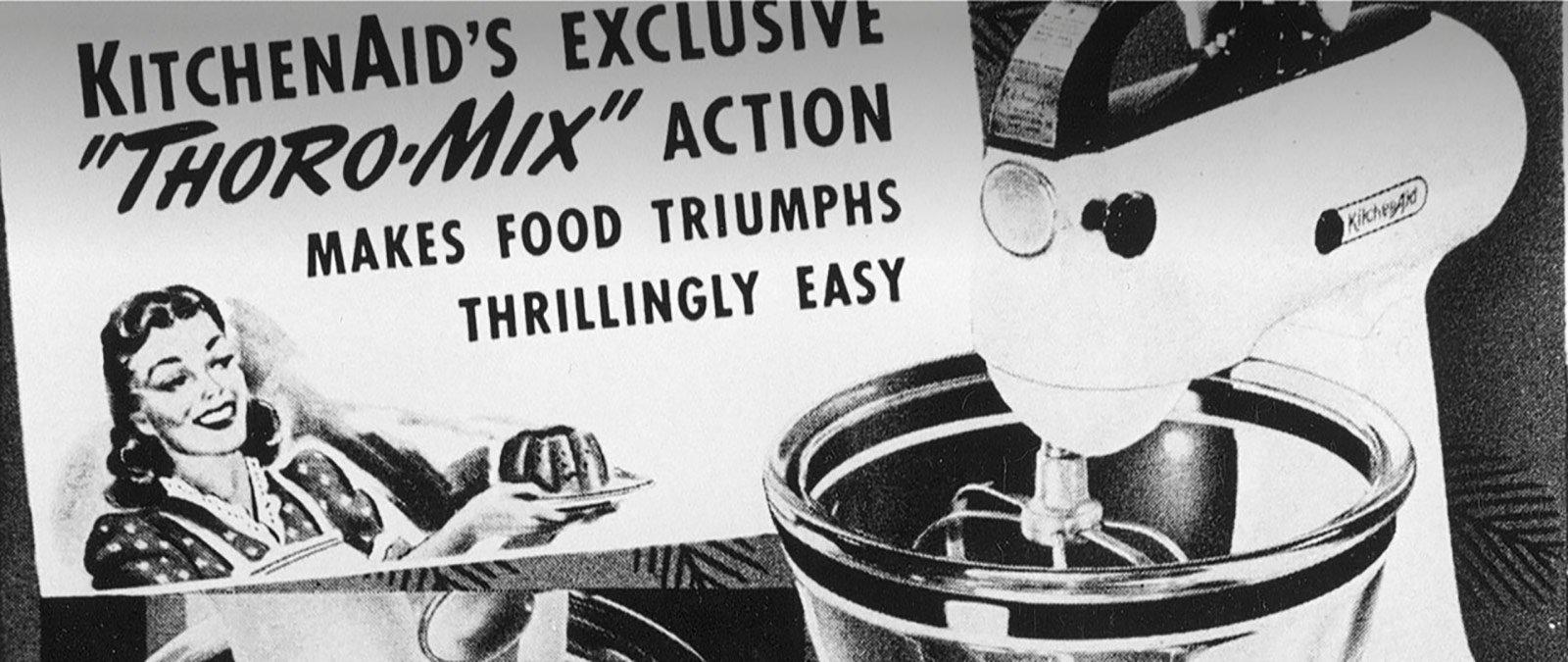 KitchenAid Professionelle History