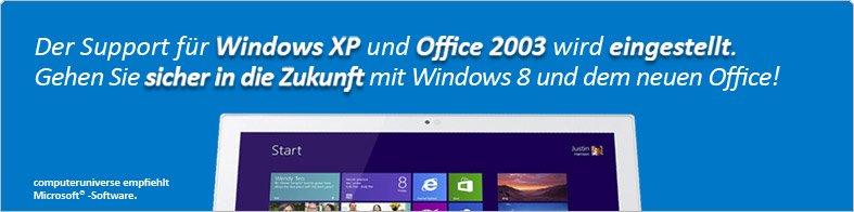 Microsoft Windows 8 Pro und das neue Office