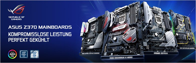 ASUS Z370 Mainboards
