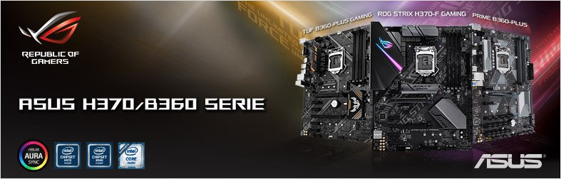 ASUS H370 Mainboards