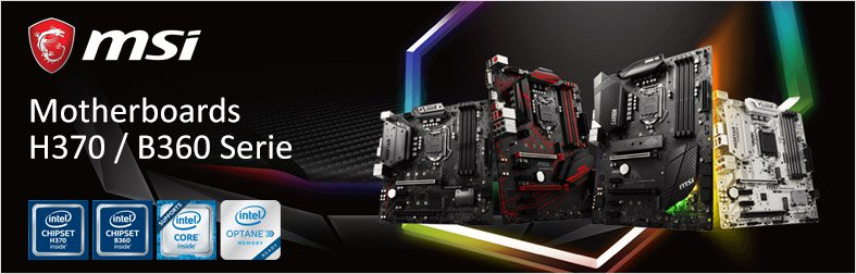 MSI H370 Mainboards