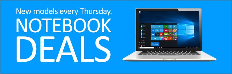 Notebook deals of the week