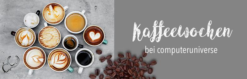 Kaffeewochen bei computeruniverse