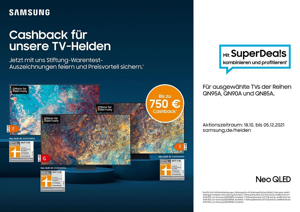 Samsung TV Aktion
