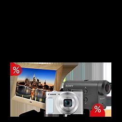 Reduzierte Action Cams