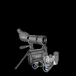 双筒望远镜和观察镜